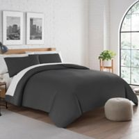 Pure Beech® Jersey King Duvet Cover Set in Charcoal