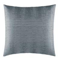 Vera Wang™ Marble Shibori European Pillow Sham in Silver/Black