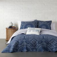 Levtex Home Bungalow Reversible Full/Queen Quilt Set in Navy