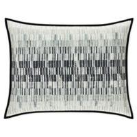 Oscar/Oliver Flatiron Standard Pillow Sham in Black