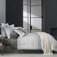 Oscar/Oliver Flatiron Reversible King Comforter Set in Teal
