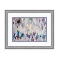 Amanti Art® Robert Creswell Abstract 29.38-Inch x 23.38-Inch Acrylic Framed Print in Grey Violet