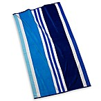 Cabana Stripe Beach Towel in Blue