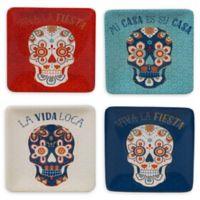 Certified International La Vida Canape Plates (Set of 4)