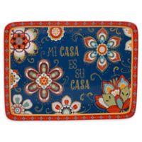 Certified International La Vida 16-inch Rectangular Platter