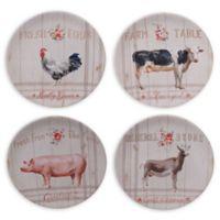 Certified International Farmhouse Dinner Plates (Set of 4)