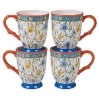Certified International Torino Mugs (Set of 4)
