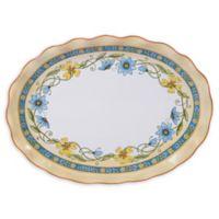 Certified International Torino Oval Platter