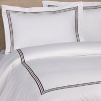 Bellino Fine Linens® Tivoli Standard Pillow Sham in Chocolate