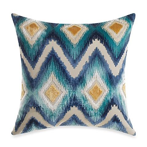 diamond aztec toss pillow