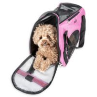Airline Approved Altitude Force Medium Sporty Zippered Pet Carrier in Pink
