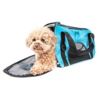 Airline Approved Altitude Force Medium Sporty Zippered Pet Carrier in Black