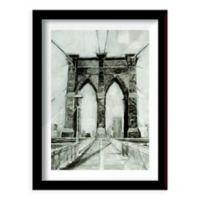 Bridge Crossing I 26-Inch x 20-Inch Framed Wall Art