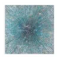 Madison Park™ Bursting Blue Star Canvas Wall Art