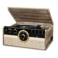 "Victrola Victrola 6-in-1 Empire Bluetooth Record Player Walnut Walnut 15 18.9 60"" Cord Length Vta-27"