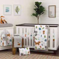 NoJo® Dreamer Little Woodland Friends Crib Bedding Set in Grey