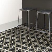 Floorpops Clover Tiles Peel & Stick Wall Paper in Grey (Set of 2)