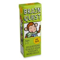 Brain Quest My First Question and Answer Game
