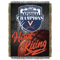 University of Virginia 2019 National Champions Woven Tapestry Throw Blanket