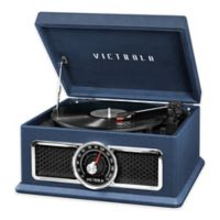 Victrola™ 4-in-1 Nostalgic 3-Speed Bluetooth Record Player in Blue