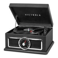 Victrola™ 4-in-1 Nostalgic 3-Speed Bluetooth Record Player in Black