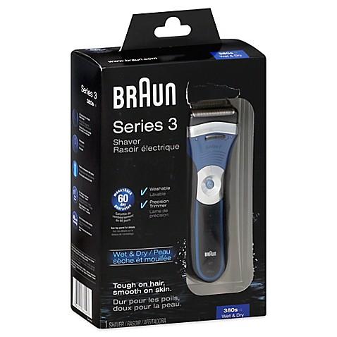 Braun Series 3 380s 4 Solo Mens Shaver Bed Bath amp Beyond