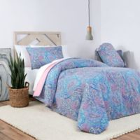 Laundry by SHELLI SEGAL® Arleta Reversible Full/Queen Comforter Set in Coral