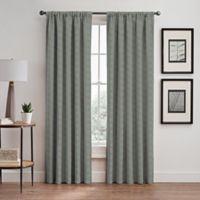 Cascade 63-Inch Rod Pocket/Back Tab Window Curtain Panel in Sky