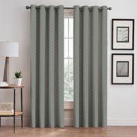 Cascade 108-Inch Grommet Window Curtain Panel in Sky