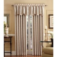 Celeste 95-Inch Rod Pocket/Back Tab Window Curtain Panel in Ivory