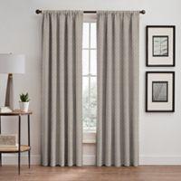 Glam 84-Inch Rod Pocket/Back Tab Room Darkening Window Curtain Panel in Gold