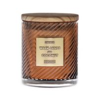 10 Oz. Warm Sands & Coconut Scented Spiral Candle