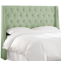 Skyline Furniture Loa California King Headboard in Sage