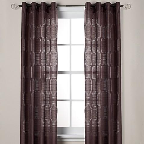 J Queen New York Hamilton Grommet Window Curtain Panels