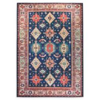 RUGGABLE® Noor 5' x 7' Flat-Weave Indoor/Outdoor Area Rug in Sapphire