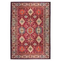RUGGABLE® Noor 5' x 7' Flat-Weave Indoor/Outdoor Area Rug in Ruby