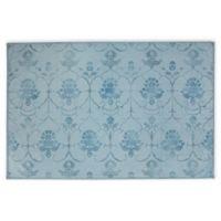RUGGABLE® Leyla 3' x 5' Flat-Weave Indoor/Outdoor Area Rug in Blue
