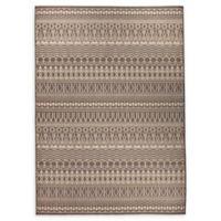 RUGGABLE® Cadiz 5' x 7' Flat-Weave Indoor/Outdoor Area Rug in Espresso