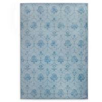 RUGGABLE® Leyla 5' x 7' Flat-Weave Indoor/Outdoor Area Rug in Blue