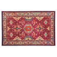 RUGGABLE® Noor 3' x 5' Flat-Weave Indoor/Outdoor Area Rug in Ruby