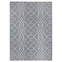 Ruggable® Amara 5' X 7' Flat-weave Area Rug in Grey