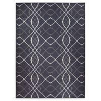 Ruggable® Amara 5' X 7' Flat-weave Area Rug in Black