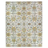 RUGGABLE® Traditional Floral 8' x 10' Flat-Weave Indoor/Outdoor Area Rug in Cream