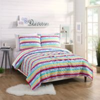 Maker's Collective Today Stripe Full/Queen Quilt Set