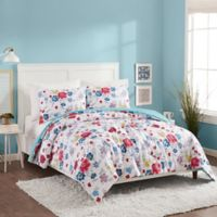 Maker's Collective Flower Patch Reversible Twin/Twin XL Comforter Set
