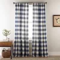 Bee & Willow™ Home Sawyer 84-Inch Rod Pocket Window Curtain Panel in Navy