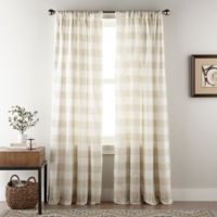 Bee & Willow™ Home Sawyer 84-Inch Rod Pocket Window Curtain Panel in Taupe
