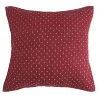 Bee & Willow Home™ Holden European Pillow Sham in Burgundy