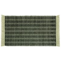 "Jessica Simpson® Keris 2'3"" x 3'9"" Woven Accent Rug in Black/Ivory"