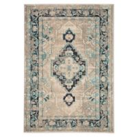 "Jaipur 4' x 5'8"" Living Area Rug in Truquoise"